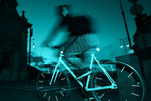 Budapest Biking by night